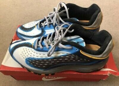 NIKE AIR MAX Deluxe Men's Trainers Bluegrey Size 9 EUR 54