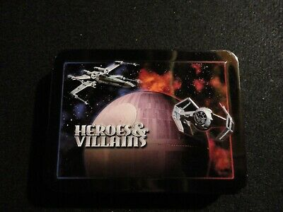 OFFICIAL STAR WARS EPISODE 9 KYLO REN PLAYING CARDS POKER IN COLLECTORS TIN