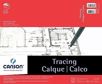 PACON PAPERS 100510824 FOUNDATION SERIES TRACING 25LB 18INCH X 20YARD ROLL
