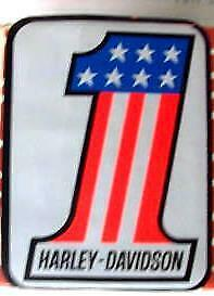 For Harley Davidson Style #1 Oil Tank Decal (1 3/4 X 2 1/4) Xl Xlh