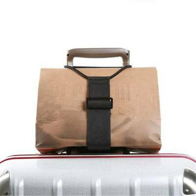 Add A Bag Strap Luggage Suitcase Adjustable Belt Elastic Band Fixed Rope SO