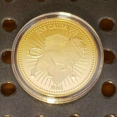 John Wick Continental Hotel Gold Coin in Capsule Cosplay Prop Free Shipping