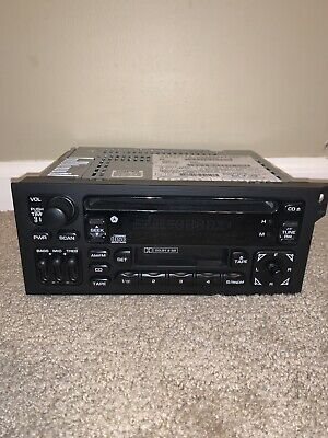 Stereo Squad Radio Compatible with 87-03 Chrysler Dodge Jeep OEM CD Cassette Player AM FM Radio
