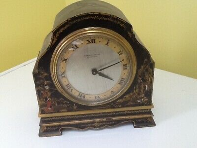 Old Vintage Chinoiserie Mantel Clock!