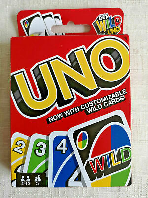 Mattel Games UNO DOS Card Game classic family card game! NEW