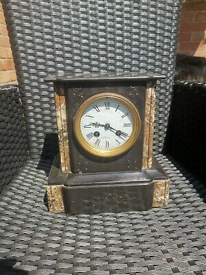 Vintage Slate Mantle Clock
