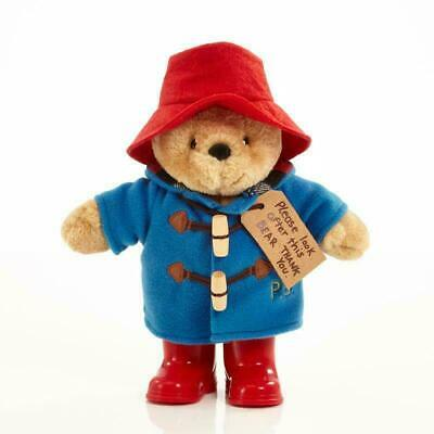 Paddington Bear with Boots Baby's Plush Hat Cuddly Soft Toy 24cm