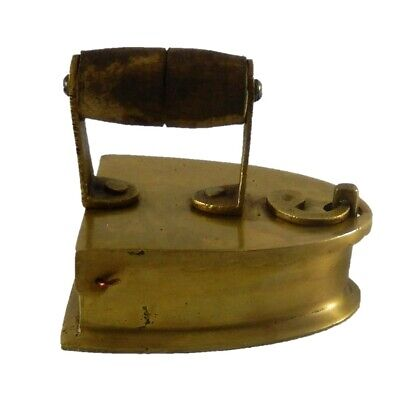 Charcoal Press Vintage Style Handmade Brass Paperweight Ashtray Table Decor M14