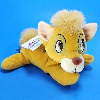 """Walt Disney World Oiliver and Company Bean Bag Oliver 7/"""" Plush Toy for sale online"""