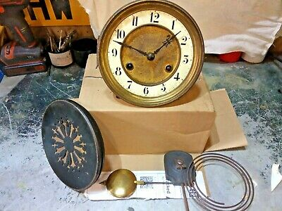 working chiming clock movement 1900s for mantle clock juhngens germany