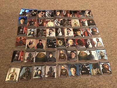 Star Wars Topps Chrome 2014 54 Cards Some Duplicates