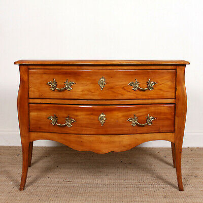 Antique Louis XV Style Commode Chest of Drawers 19th Century Bombe
