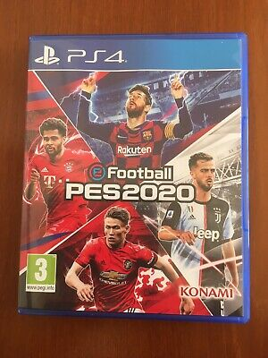PS4 Game - eFootball PES 2020  Region 2. Mint condition. Hardly played.