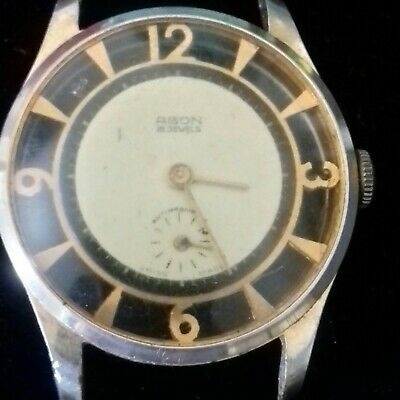 Unusual Early Wrist Watch Swiss Movment vintage or antique Old and Working