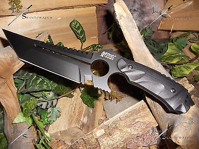 Survival knife/Bowie/Full tang/Heavy duty/Hunting/Combat/440C/5MM/M-tech/ 11""