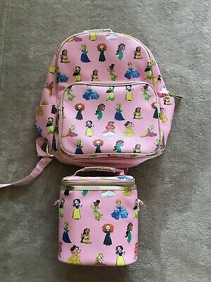 Disney Store Princess Backpack And Lunch Box