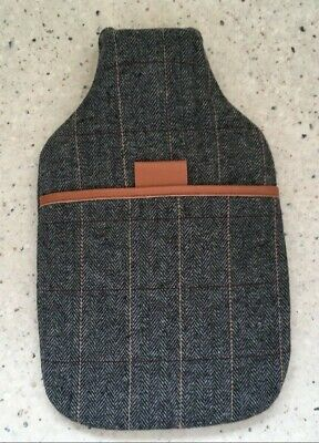Tweed Covered Hot Water Bottle