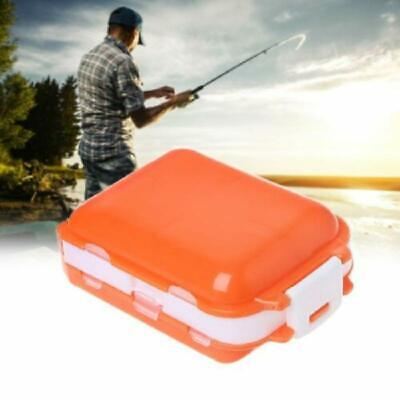 Small Fly Fishing Tool Box Tackle Lure Hooks Tortoise Case Storage、Pop ME