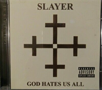God Hates Us All [PA] by Slayer (CD, Jul-2007, Legacy)