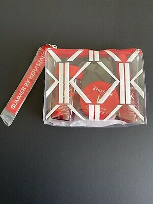 Kerastase Soleil Travel Pack 3 Products And Clear Zip  Bag