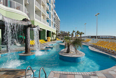Towers on the Grove-Wyndham; N Myrtle Beach- 7 Nt, Aug 15 to 22- 1 Bd Oceanfront