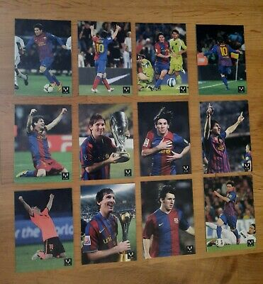 Lote Cards Messi F.c.barcelona.messi Card Collection Official.
