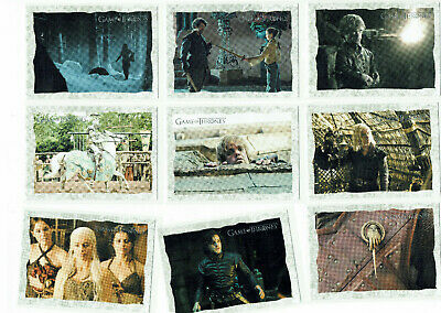 Game of Thrones Season 2 Complete 20 Card Set Storyboard Art Cards (1:12 Packs)