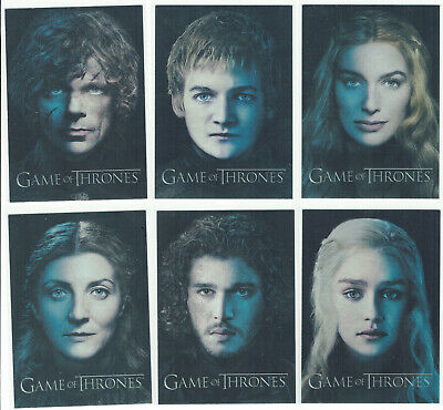 Game of Thrones Season 3 Complete 12 Card Foil Gallery Chase Set PC1 to PC12