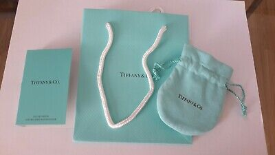 Tiffany & Co packaging, small gift bag, jewellery pouch& perfume sample
