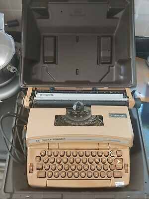 Smith-Corona Coronet super 12 typewriter With Case Works and Looks Great