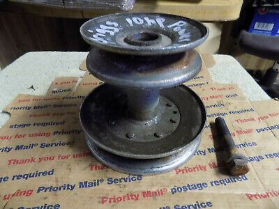 10hp Briggs & Stratton Power Range Engine Pulley PTO Pulley w/ Bolt Riding Mower