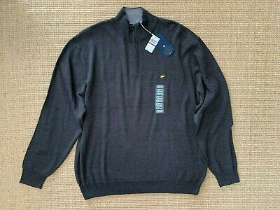 Jack Nicklaus 1/4 Zip Long Sleeve Sweater Size XXL MSRP $75