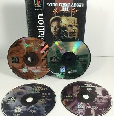 wing commander 4 ps1 review