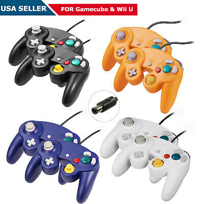 Wired NGC Gamepad Controller for NGC Cube GC & Wii U Game Console Joystick USA