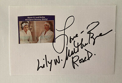 Martha Byrne Autograph Actress Anacostia Roy Soap Opera Signed Card 10 72 Picclick Uk