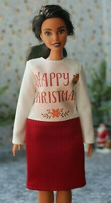 Dress for Dolls. №026 Clothes for Curvy Barbie Doll