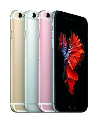 Apple iPhone 6S 16GB 32GB 64GB 128GB Gold Rose Silver Grey Unlocked Smartphone