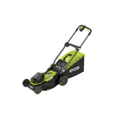 Tondeuse RYOBI 18V LithiumPlus Brushless - coupe 40cm - 2 batteries 4,0 Ah - 1