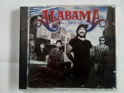Alabama American Pride CD 1st US Press.  and Code 1992, WELDED, NEW!