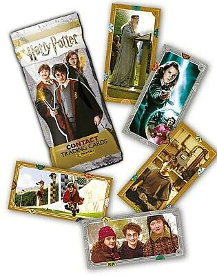 PANINI HARRY POTTER CONTACT CARDS BASE /& FOIL # 1-140 PICK