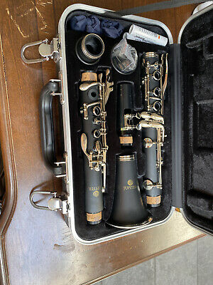 """NEW Jupiter JCL710NA ABS Resin Body .577/"""" Bore Matte Finish Clarinet with Case"""