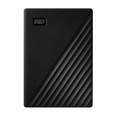 WD 5TB My Passport Portable External Hard Drive Black - WDBPKJ0050BBK-WESN