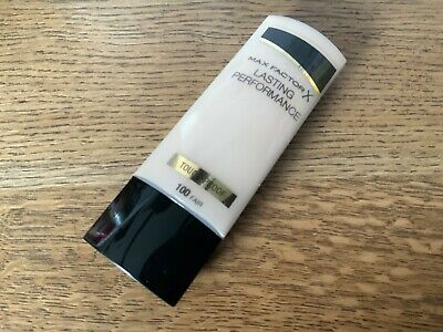 Max Factor Lasting Performance 100 fair  Touch-Proof Foundation 35ml - new
