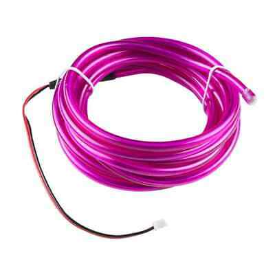 Bendable El Wire Purple 3M