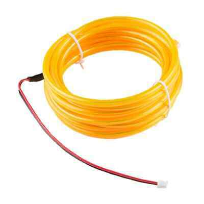 Bendable El Wire Yellow 3M