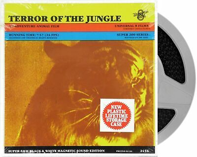 Terror of the Jungle Super 8mm Cine Film 200ft Sound Movie New Old Stock Sealed