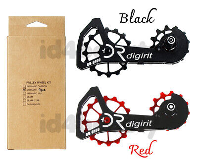 DIGIRIT Alloy Cage w//Carbon Ceramic 13//19T Pulleys Wheel Kit NIB R9100 R8000