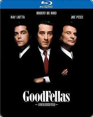 GOODFELLAS (Blu-Ray)  Limited Edition Steelbook. W/ Original Poster Cover Sealed