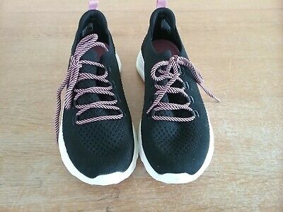 Skechers NEW Bobs Sport Squad 2 Bow Beauty pink memory foam trainers sizes 3-8