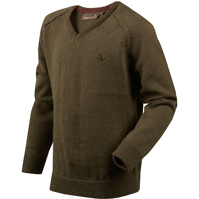 TuffStuff Denton heavy  Knitted Pullover Grey  Country Hunting Shooting workwear